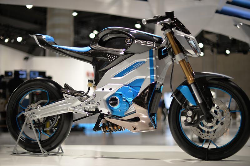 Die elektrischen Motorkonzepte Yamaha PES1 und PED1
