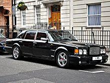 A rare 1998 Bentley Turbo RT Mulliner